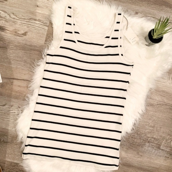 a new day Tops - NEW Any Day Striped Tank Top